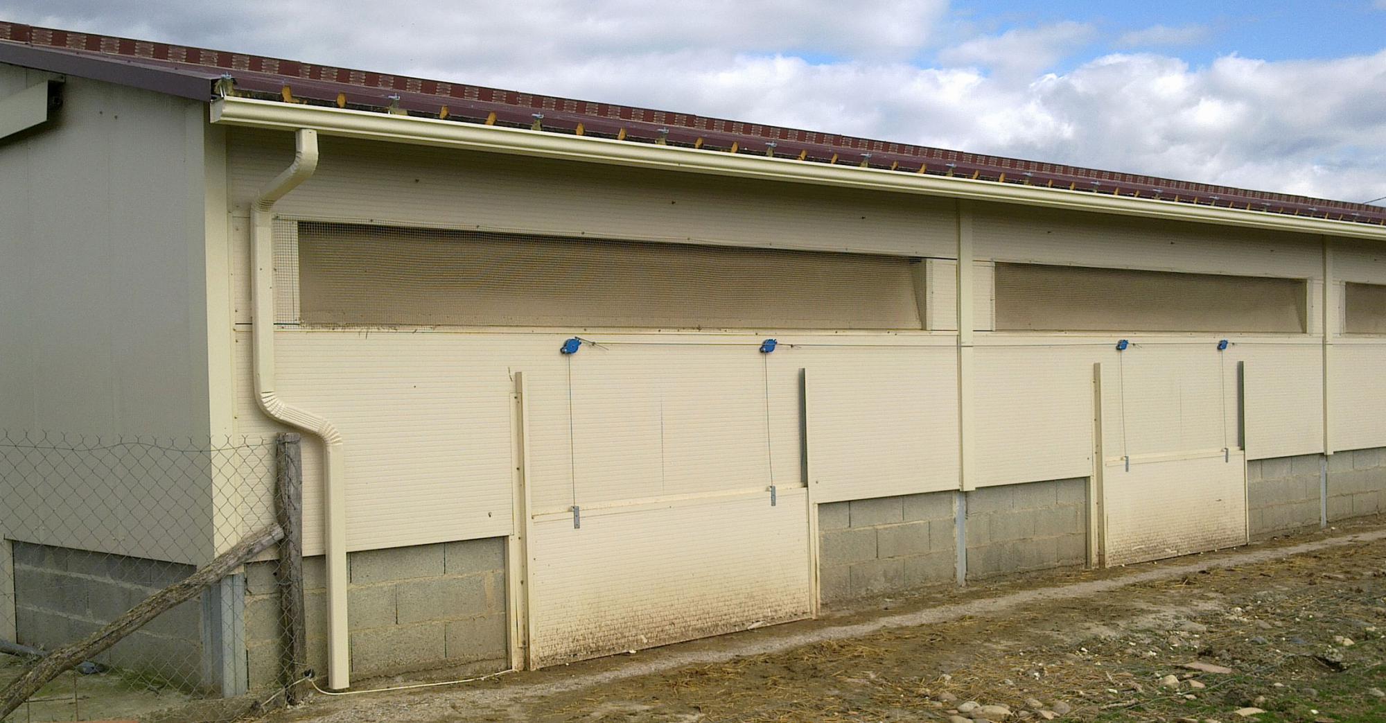 Renovation bâtiment agricole