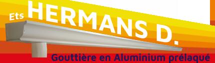 Ets Hermans D. - La gouttière du 21ème siècle - Aluminium prélaqué - Fabrication en continu, sans raccord ni soudure !